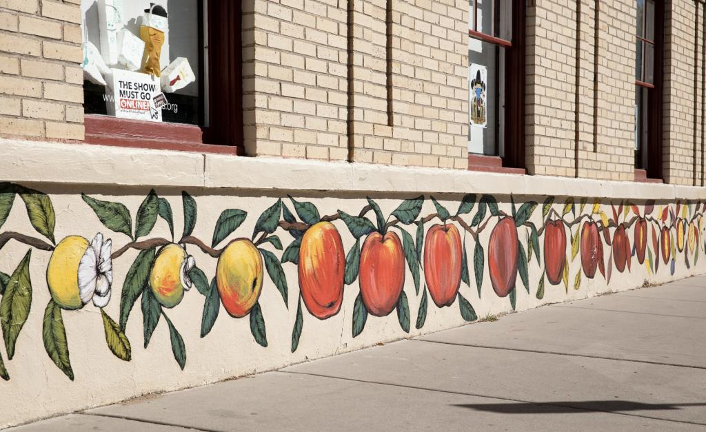 Apple mural